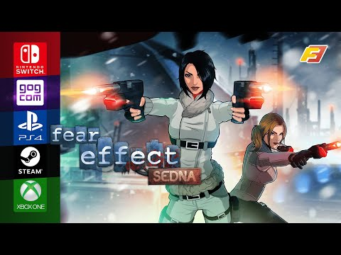Fear Effect Sedna - Release Date Announcement Trailer