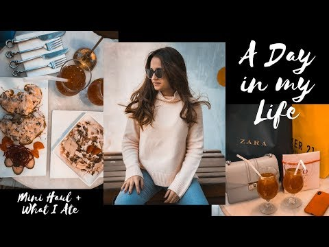 A DAY IN MY LIFE VLOG | Come shopping with me + Mini Haul + what I ate at the mall | Sakhi Kapur