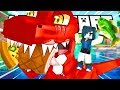 DESTROYING DINOSAUR PARK! | Minecraft Adventures