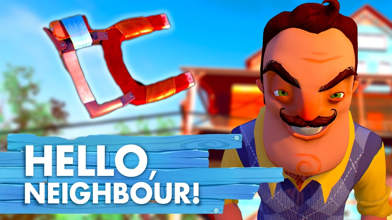 HOW TO FIND THE MAGNET GUN | Hello Neighbor - YouTube