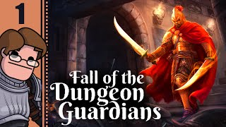 let's Play The Fall of the Dungeon Guardians Part 2 - Level Up!