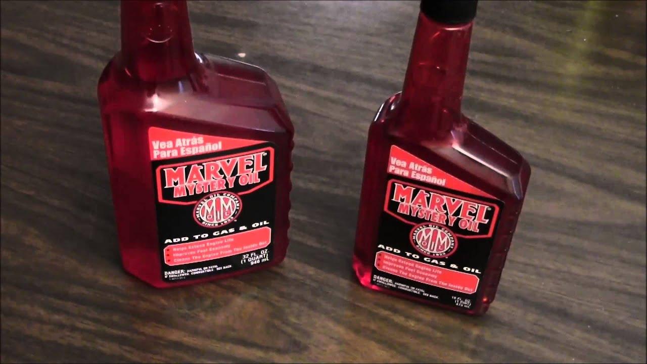 Marvel Mystery Oil - YouTube