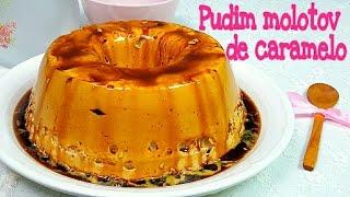 Pudim de claras o Molotov de caramelo | Mi tarta preferida
