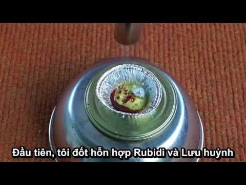 Rubidi - Kim loại đắt hơn vàng