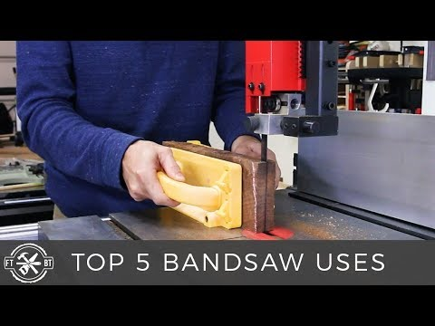 Top 5 Uses for a Band Saw | How to Use a Bandsaw