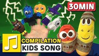 HALLOWEEN FINGER FAMILY | LARVA KIDS | SUPER BEST SONGS FOR KIDS | HALLOWEEN SONG