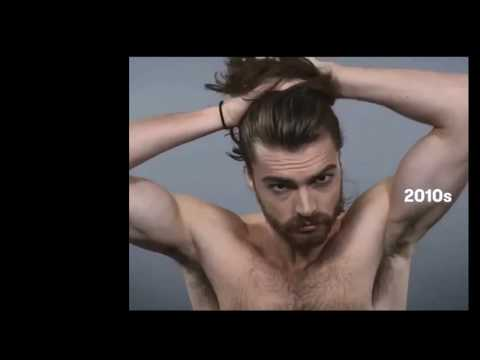 How USA men's hairstyles and look change in 100 years.(men's lifestyle with Litan)
