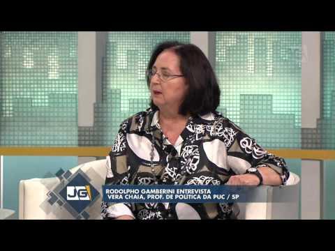 Rodolpho Gamberini Entrevista Vera Chaia, Prof. De Política Da PUC/SP