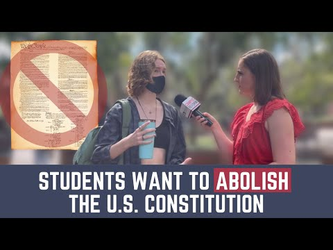Students Sign Petition To Abolish The U.S. Constitution