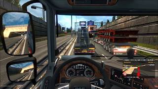 ETS 2 - Multiplayer | Idiots, Crashes, Fails,...Compilation #3 + Parking