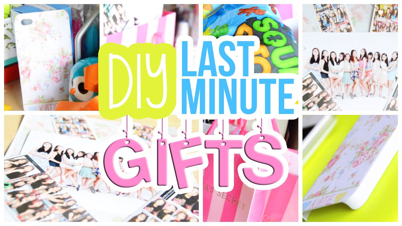 ♡ Quick, Easy & Cheap DIY Last Minute Gifts For Friends, Etc ...
