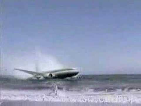 avion se estrella en la playa airplane crash youtube. Black Bedroom Furniture Sets. Home Design Ideas
