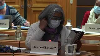 Laurence Dexavary - Conseil Municipal du 10 mars 2021