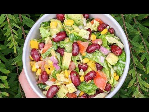 salade-mexicaine-+-la-meilleure-vinaigrette-pour-les-salades