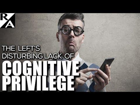 Right Angle - The Left's Disturbing Lack of Cognitive Privilege 08/07/17