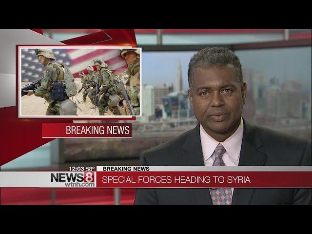 US commandos heading into Syria