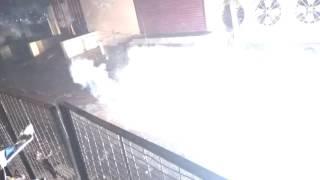 10000 fire crackers - in india delhi (2017 Diwali )