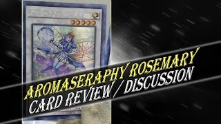 aromaseraphy rosemary are more aroma synchros on the way yu gi oh discussion
