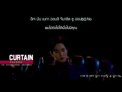 [karaoke-thaisub] CURTAIN - SUHO (EXO) & SONG YOUNG JOO