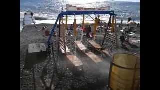 Адлер   Краснодарский край, море, пляж, гидоомассаж на пляже(, 2015-07-18T21:10:46.000Z)