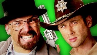 Rick Grimes vs Walter White.  Behind the Scenes.  Epic Rap Battles of History