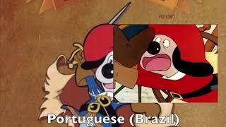 Dogtanian (D'Artacan) Opening Multilanguage Comparison