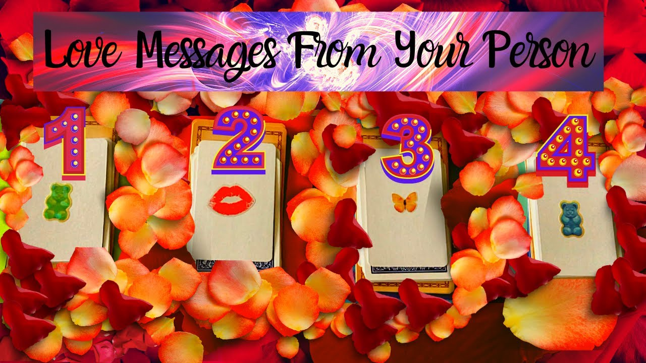LOVE MESSAGES FROM YOUR PERSON 💐❤️💐 Pick A Card 💐❤️💐 TIMELESS TAROT READING