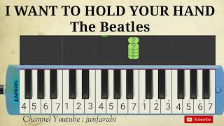 i want to hold your hand pianika - melodika the beatles