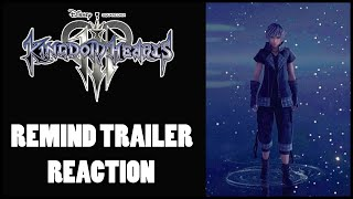WE HAVE A RELEASE DATE! KINGDOM HEARTS 3 RE:MIND TRAILER REACTION