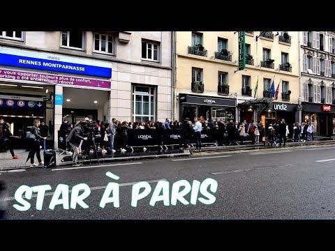 Paris ; Montparnasse ; Foule ; Rue de Rennes ; Eva Longoria ; Grande Queue ; France