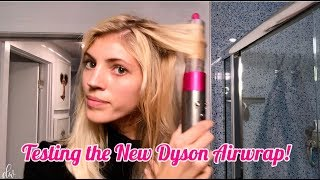 Trying Out the New Dyson Airwrap | Devon Windsor