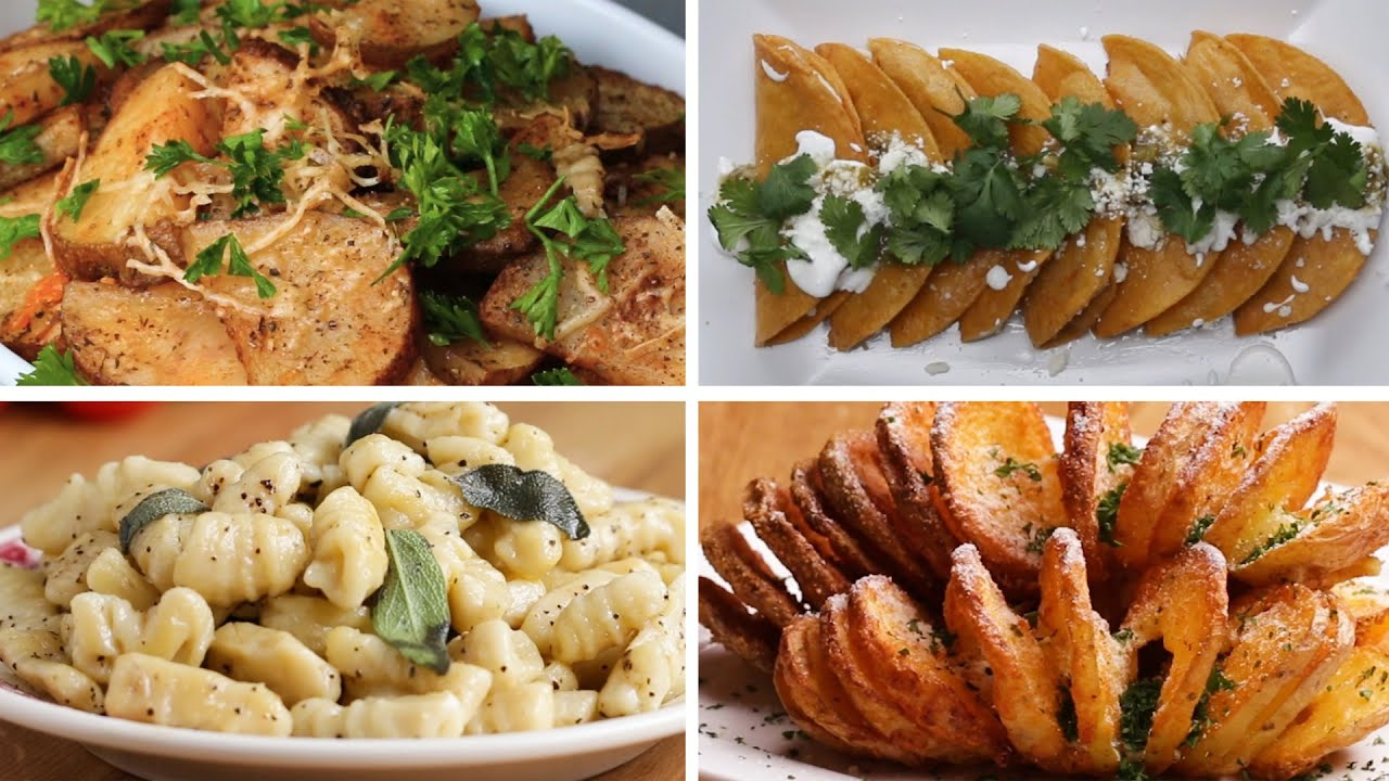 6 Delicious Potato Recipes - YouTube