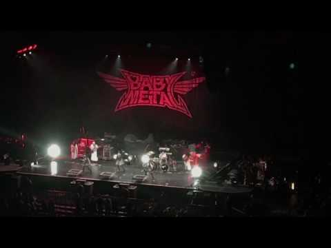 Babymetal - Awadama Fever - Charlotte, NC Spectrum Center 4.17.17
