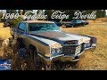 1969 Cadillac Coupe Deville Part 1 (Towing it Home)