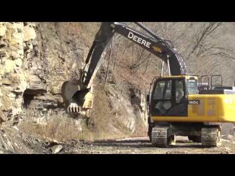 Rock slide causes road closure