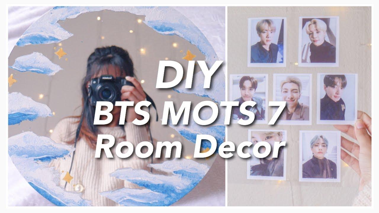 Bts Mots 7 Diy Room Decor Minimal Edition Youtube