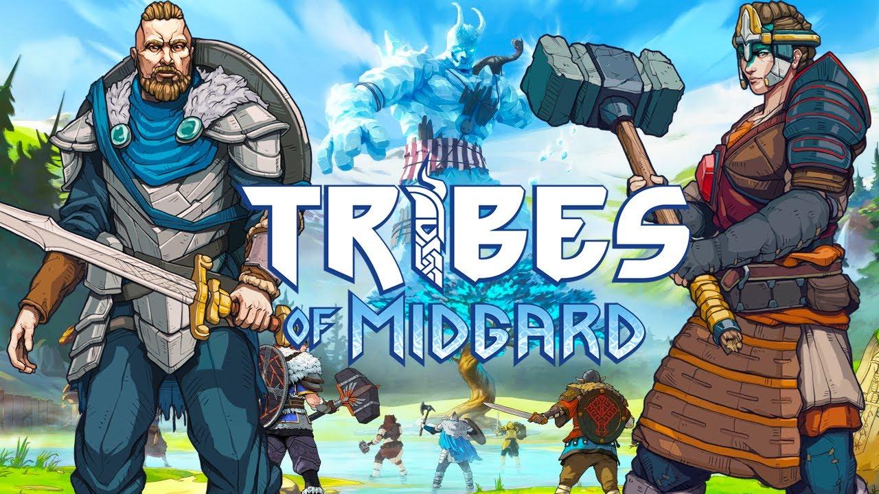 Tribes of Midgard - Vikings Sobrevivendo ao Ragnarök!! [ PS5 - Gameplay 4K ]