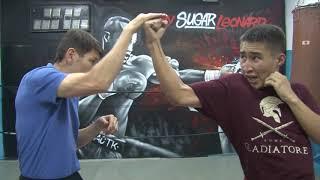 """Блог """"Мэнни на канвасе"""". Уроки бокса. Часть 3. Апперкот"""