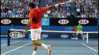 Roger FEDERER- Top 10 Unbelievable Shots