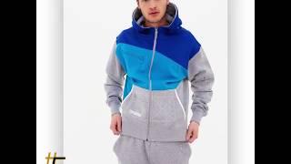 Мужской спортивный костюм большого размера Sweat blue edition от немецкого бренда Dangerous DNGRS