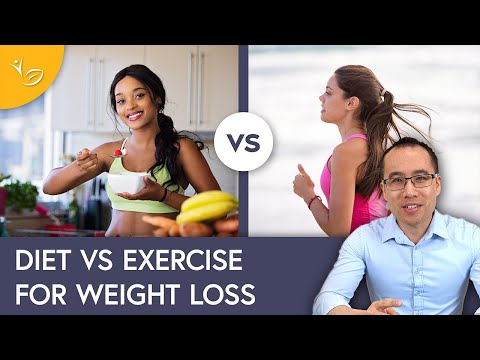 Diet vs. Exercise for Weight Loss