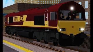 Roblox GCR: Classe 66 autour de la carte GCR Partie 1 - 25/05/19