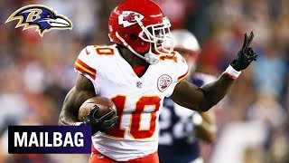 Who Will Cover Chiefs WR Tyreek Hill? | Ravens Mailbag