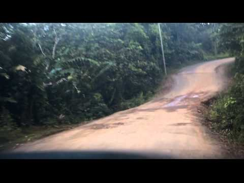 Drive from the coast of San Blas back to Panama City in Panama.