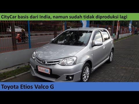 Toyota Etios Valco 1 2 G (2013) review - Indonesia