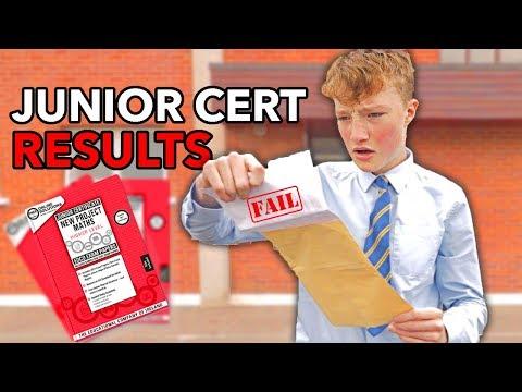 Opening my Junior Cert Results on Camera! *2018*