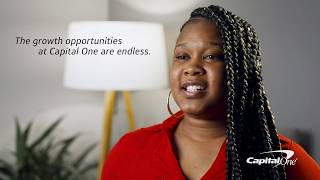 What's it like being a Customer Service Rep at Capital One? Endless opportunities for growth!