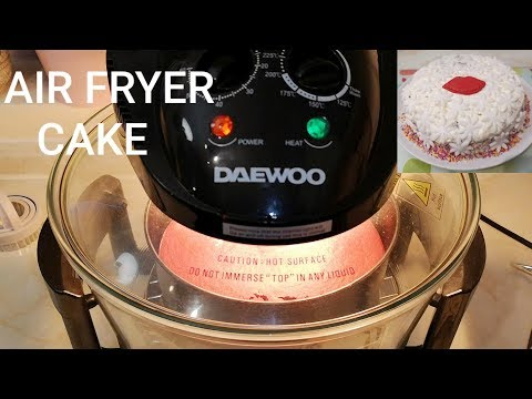 AIR FRYER BAKED CAKE | Baking My Cake With #Daewoo Halogen Oven