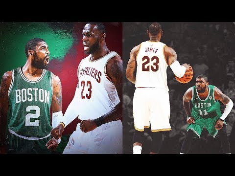 LeBron James vs Kyrie Irving!Cavaliers vs Celtics Full Game Highlights | 2017-18 NBA Season