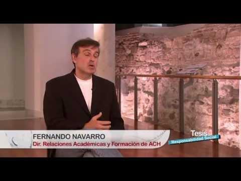 ¿Que es la Responsabilidad Social Corporativa (RSC)? Entrevistas: Fernando Navarro García